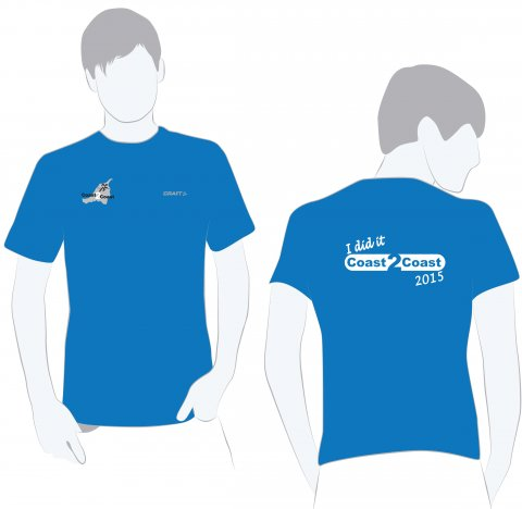2015 - Finisher T-shirt Dame