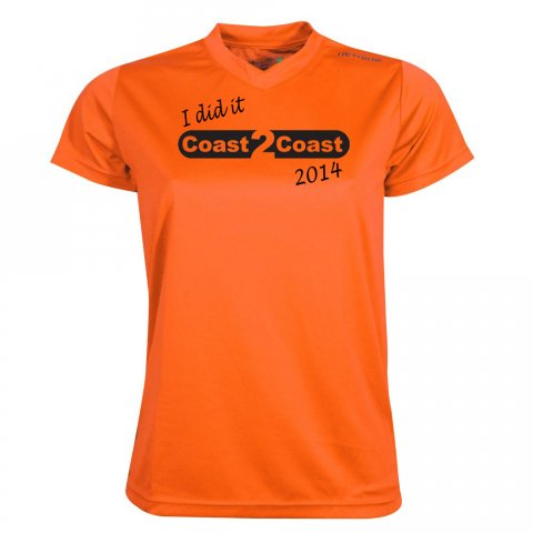 2014 - Finisher T-shirt Dame